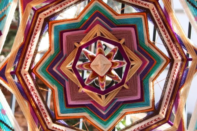 Wool mandala